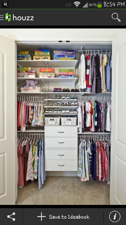 Small Closet Storage Closets Design Ideas Pictures Remodel And Decor