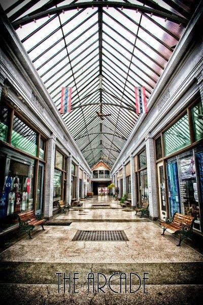 The Arcade In Downtown Newark Newark Ohio Newark Hometown