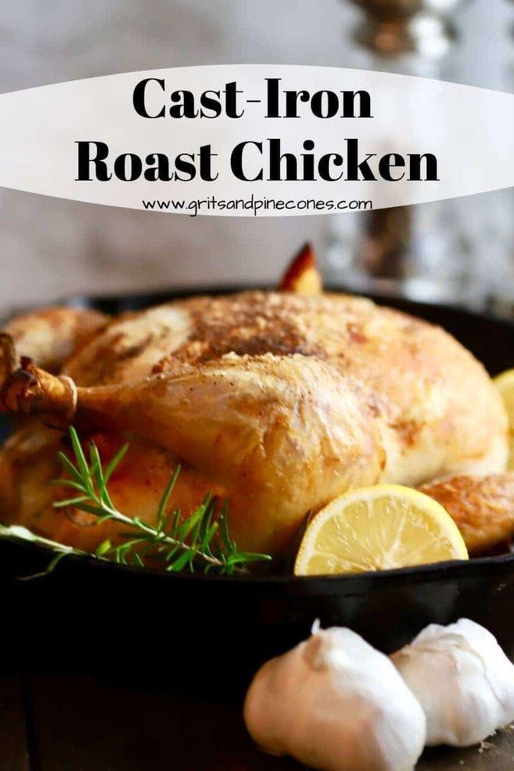 Photo of Easy Cast-Iron Roast Chicken Recipe