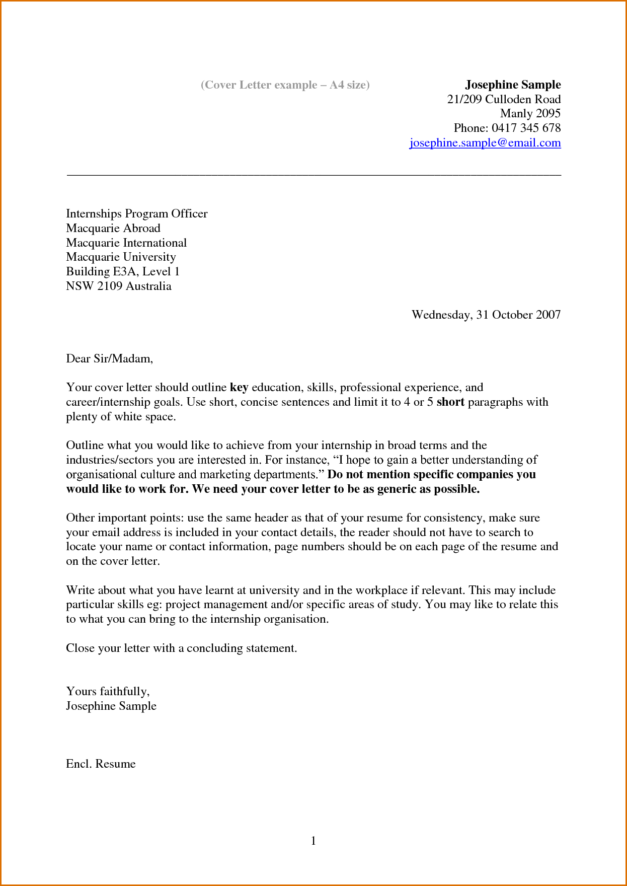 resume Email Letter For Resume cover letter barista this site might help you re is a good good