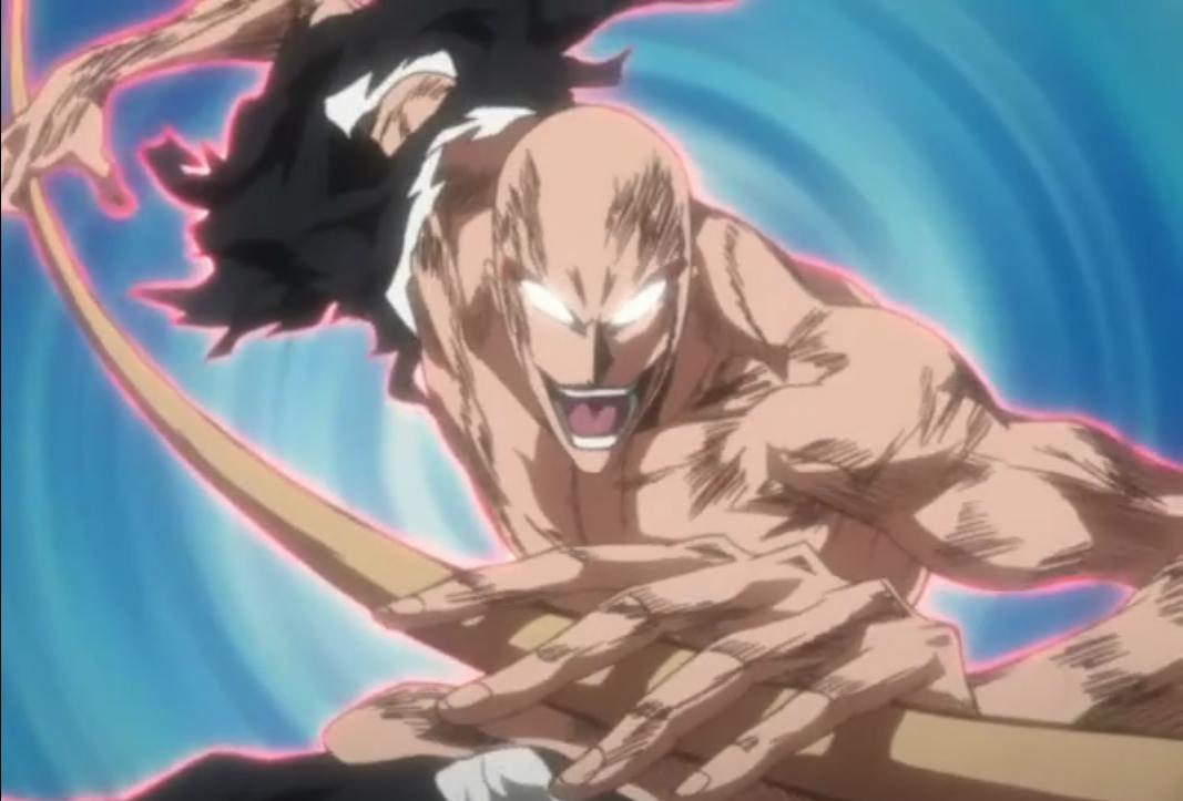 Ikkaku Madarame S Bankai Freaked Me Out O O But It S Still Cooollll 3 Bleach Bleach Anime Anime Fantasy Character Design