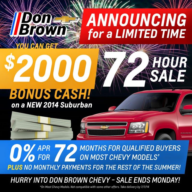 pin don chevrolet sign time limited offer drive brown and at