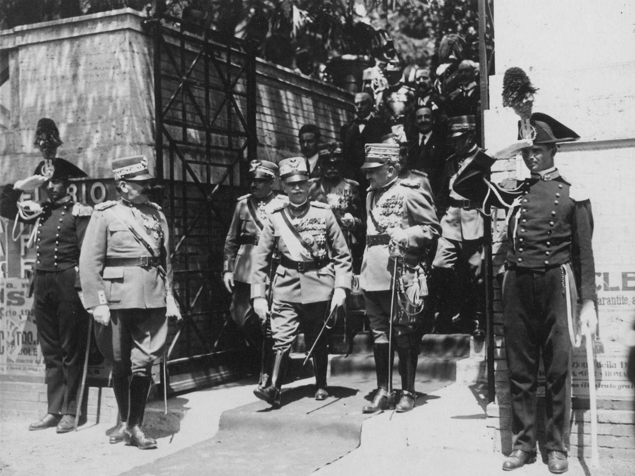 Roma 5 giugno 1925. Vittorio Emanuele III 320328c90500