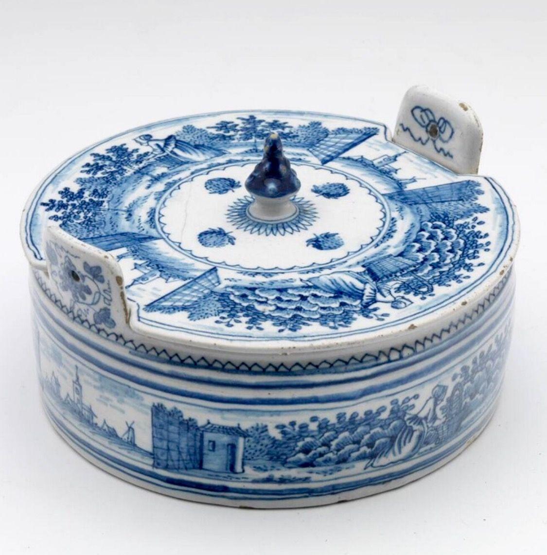 De Porceleyne Bijl - Butter dish 1700-1800 - Collection Boijmans NL ...