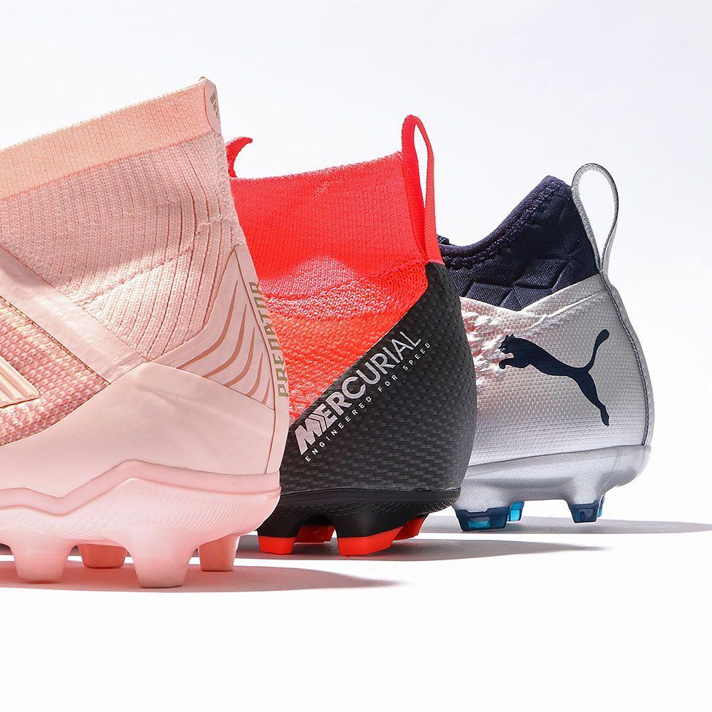 promo code 6e90f 0f7a5 Calzado fútbol niño con tobillera  futbolmaniakids  botasdefutbol  adidas   nike  puma
