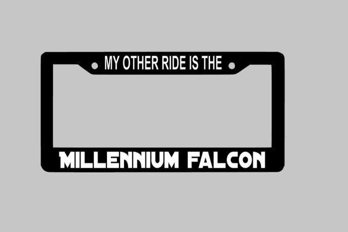 Funny License Plate Frame Ideas