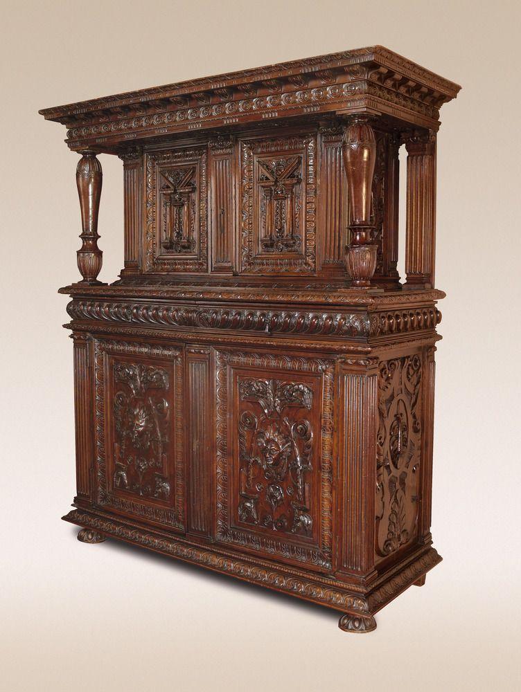Outstanding Burgondo-Lyonnais Renaissance cabinet - Gabrielle