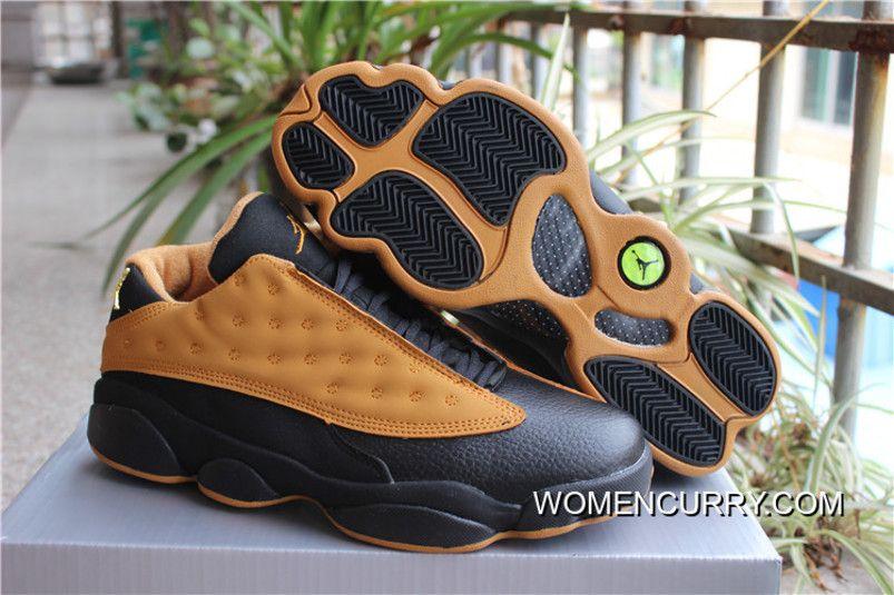 the latest bb107 acd9c Air Jordan 13 Low Chutney Black Chutney New Release