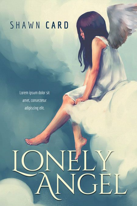 Lonely Angel - Middle Grade Fantasy Book Cover For Sale at Beetiful Book Covers