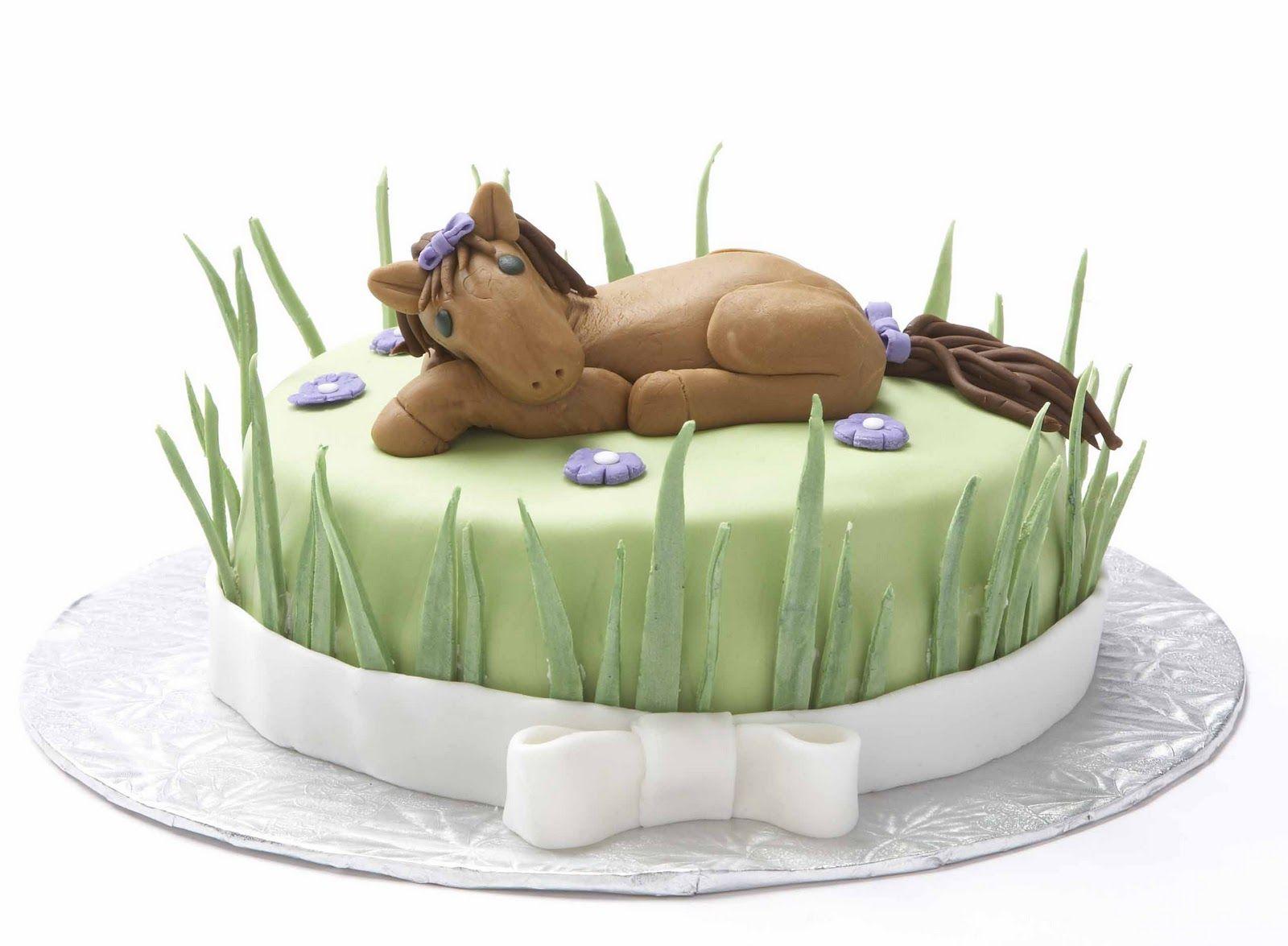 Cup O Cake Horse Birthday Cake Katie Vegan Cake Girls