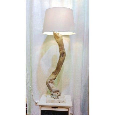 Lampada Realizzata A Mano Il Dorminte Nenes It Lampade Tavoli In Legno Lampade Da Tavolo