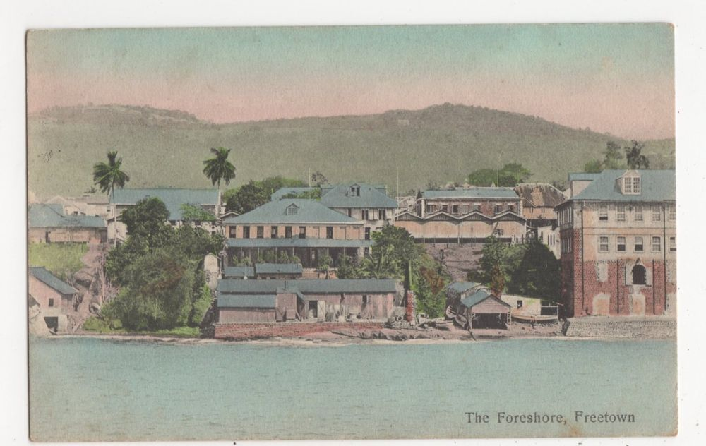 Africa, The Foreshore, Freetown, Sierra Leone Postcard, A687