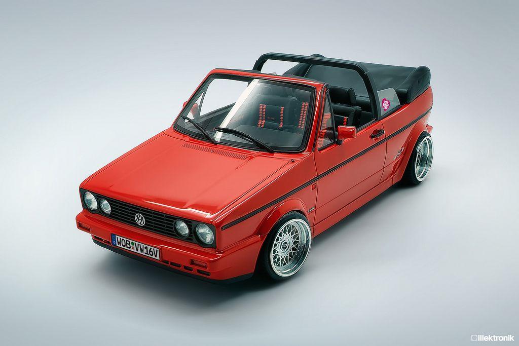 Volkswagen Golf Mk1 Cabriolet Sportline Volkswagen Golf Mk1 Vw Cabriolet Vw Golf Cabrio