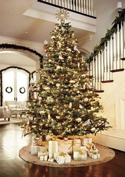 Christmas tree decorations gold mercury glass tonik Ðℯck