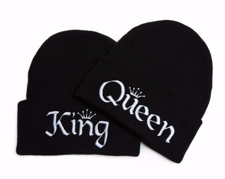 King and Queen Hats Embroidered Beanies #queenshats - Two Rolled Cuff Style Beanies - 100 % Acrylic - One Size - Soft Material - Unisex - Hand Wash / Hang Dry *** We embroider, package, and ship from the US! *** Need it wholesale? Contact us for our wholesale prices! #queenshats