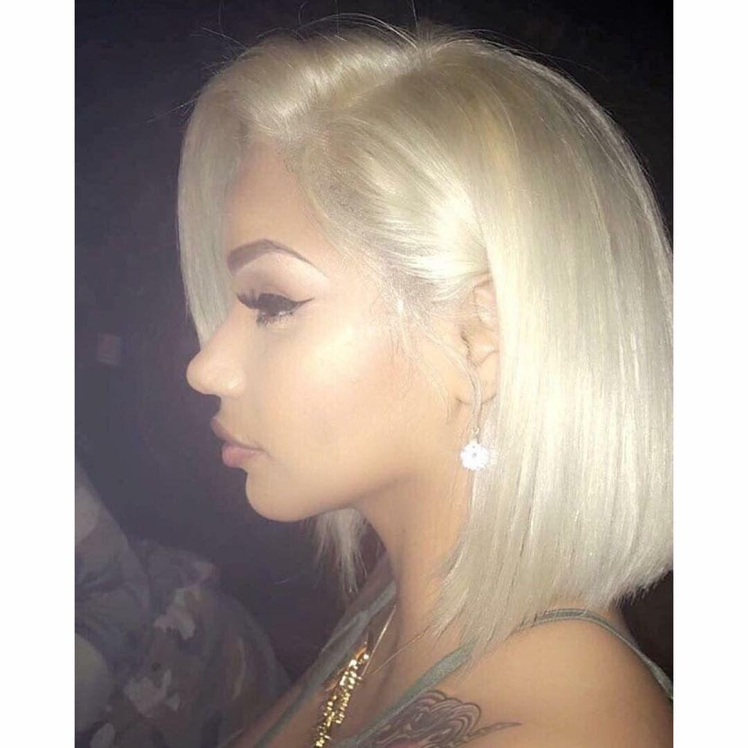 short bob hair blonde want