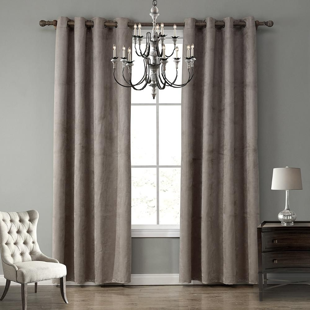 Plaid Blackout Home Decor Curtain For Living Room Darpe Suede Curtains For Bedroom Rideaux Window Living Room Customized Curtains Living Room Home Decor Wall Decor Bedroom