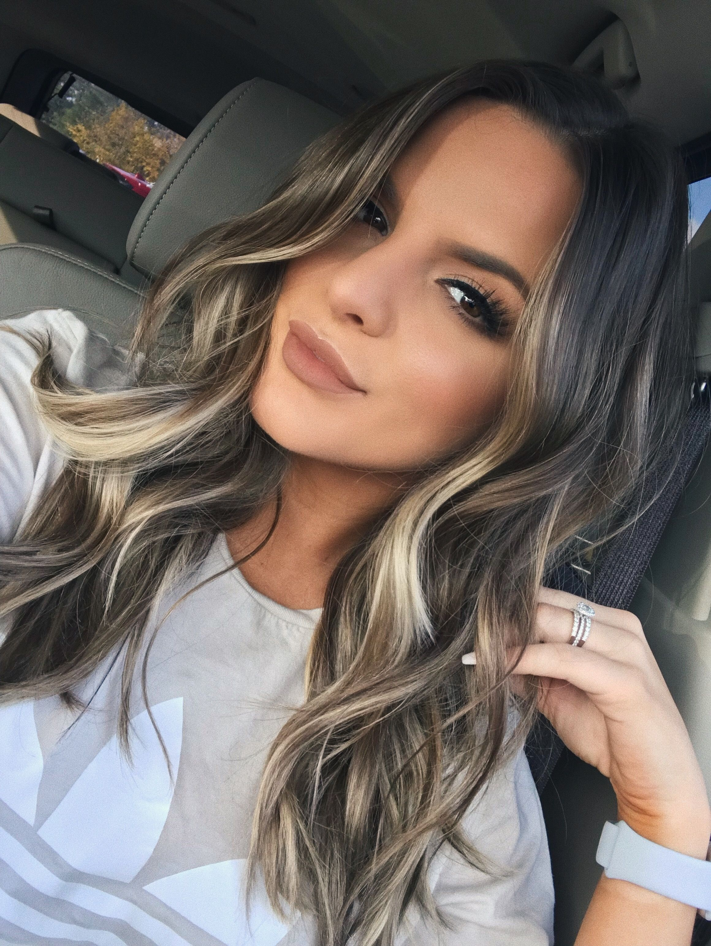 Pin by andrea villegas on h a i r pinterest winter hair
