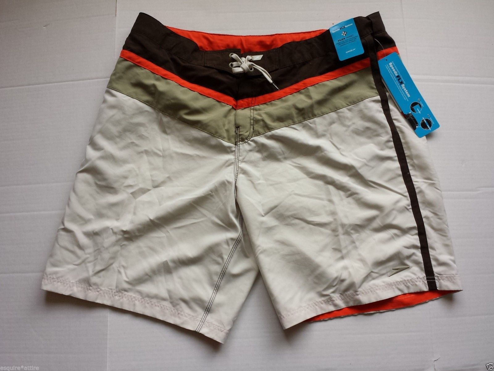 #Speedo swimwear men size 2XL swimming shorts (mesh inside , side pockets) NWT visit our ebay store at  http://stores.ebay.com/esquirestore