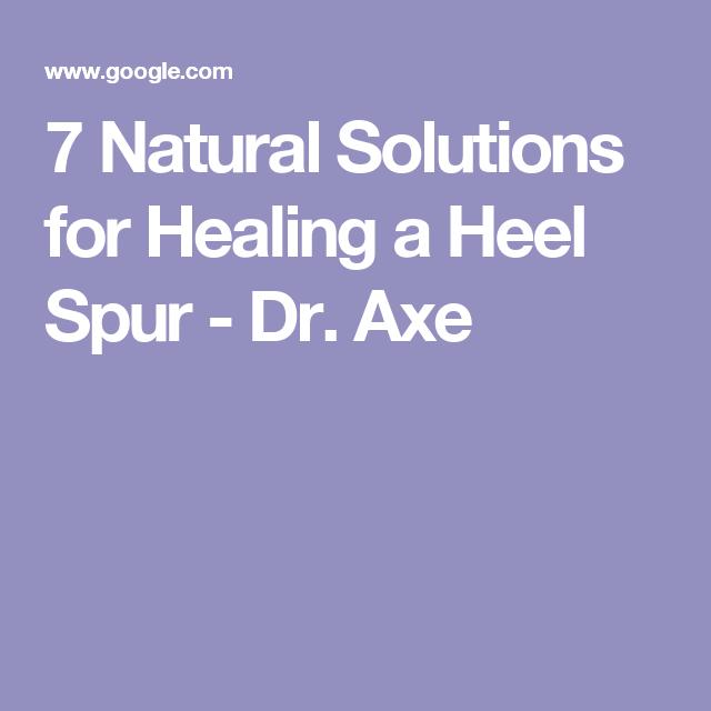 c603b3d425 7 Natural Solutions for Healing a Heel Spur - Dr. Axe | Bone spurs ...