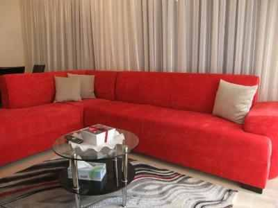fully furnished 3 bedroom flat near the 7th circleclose to