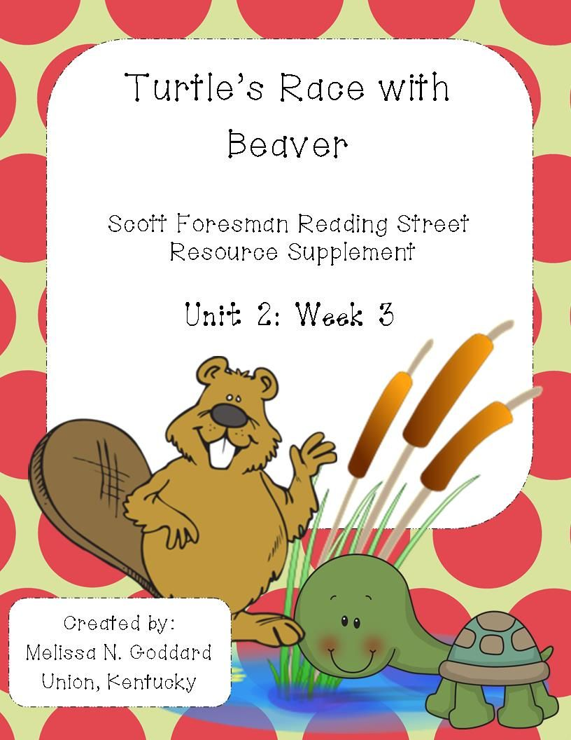 Turtle S Race With Beaver Reading Street Phonics Posters Scott Foresman Reading Street Reading street grade firefighter