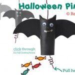 Halloween Craft: Easy Pinata / Goodie Bag