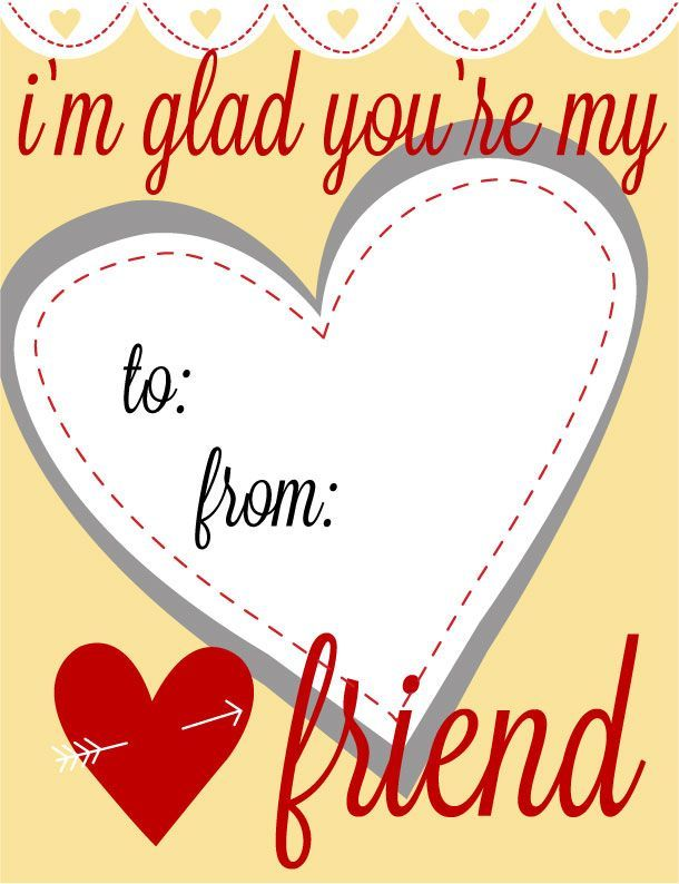 Printable Kids Valentines Day Cards 11 Jpg Cf Jpg 610 794 Fotos