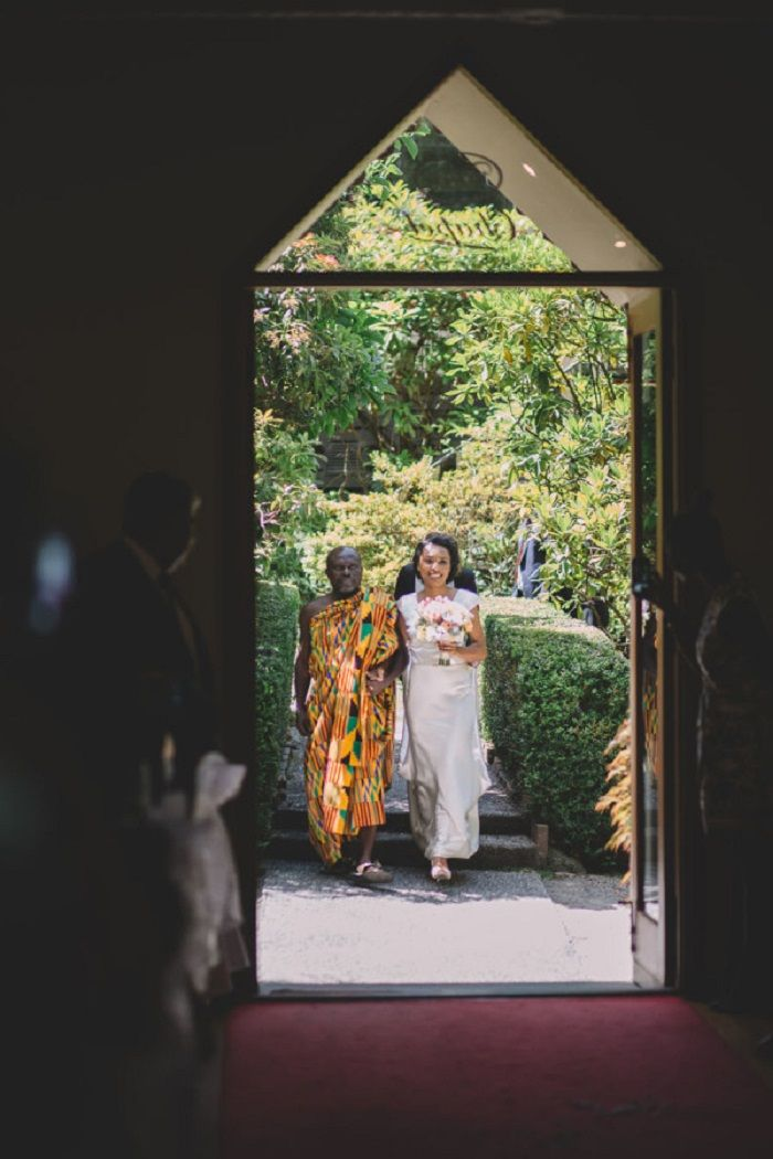 Here comes the bride - Wedding Ceremony | itakeyou.co.uk #weddingceremony