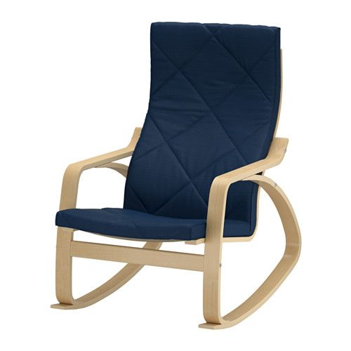 POÄNG Rocking chair IKEA The cover is easy to keep clean as it is removable and can be machine washed.