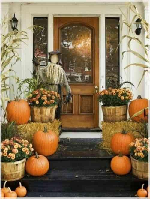 dco intressante pour lextrieur fall entryway decor rustic fall decor halloween entryway
