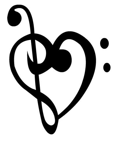 I Am In Love With Music And It Has This Symbol To Show Love Back