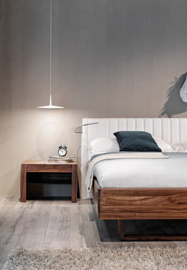 Skan Minimalist Volumes Maximum Light Functionality Contemporary Lighting Bedroom Pendant Lighting Bedroom Bedroom Interior