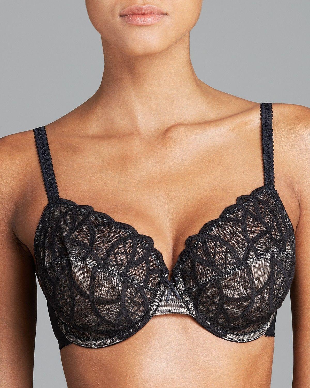 ed3784739e Wacoal 850279 Simply Sultry Full Figure Underwire Bra Nude Or Black ...
