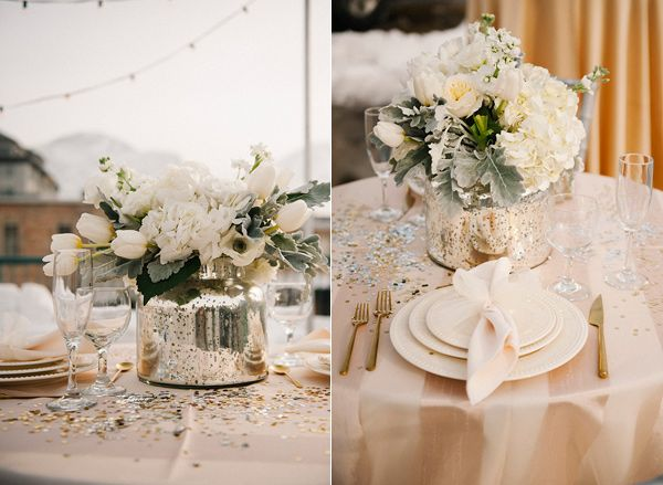 Fabulous table glitter for extra sparkle and shine