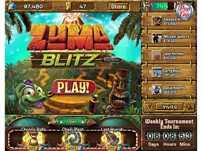 Popcap Games | Zuma's Blitz - Facebook Maybe one day there will be
