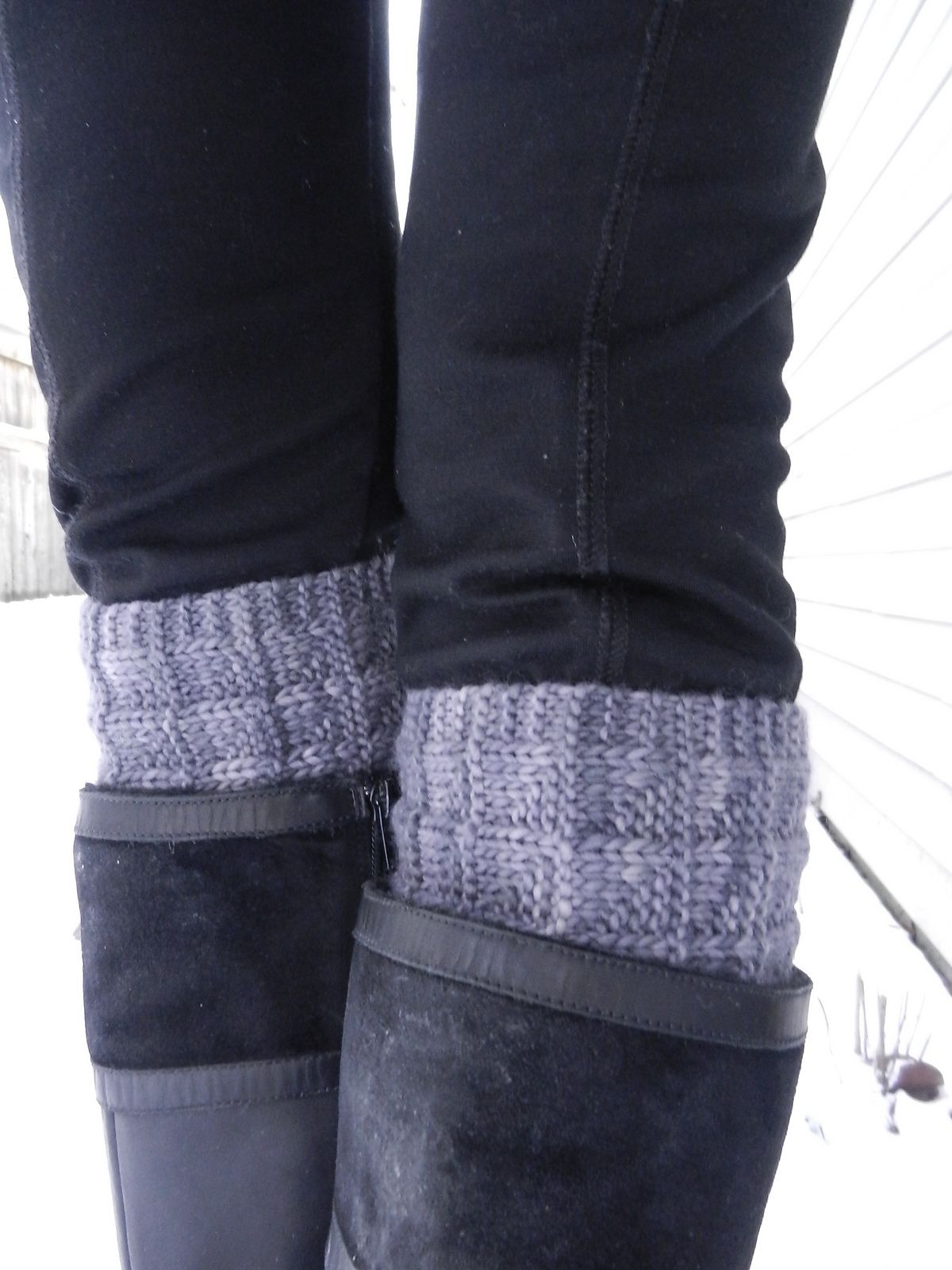 Ravelry: 2-Needle Boot Toppers / Cuffs by Kris Basta - Kriskrafter ...