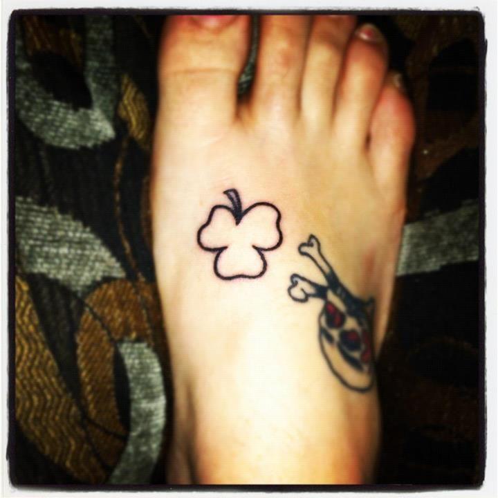 Friday the 13th tattoo 4 clover 13 tattoos tattoos