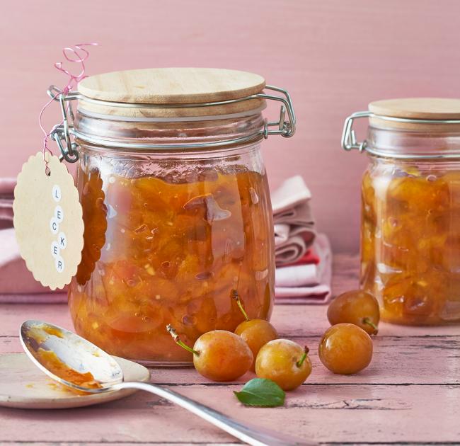 Mirabellen-Ingwer-Mus Rezept #Äpfelverwerten