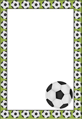 Ideas Y Material Gratis Para Fiestas Y Celebraciones Oh My Fiesta Imprimibles Printable Frames Soccer Birthday Parties Soccer Birthday