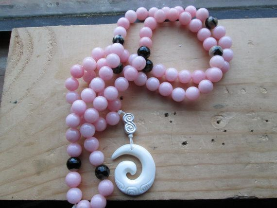 Spiral of the Heavens Mala by MagickAlive on Etsy, $65.00