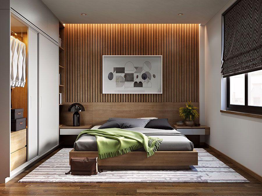 20 idee di arredo per camere da letto in legno dal design for Stanza da pranzo moderna