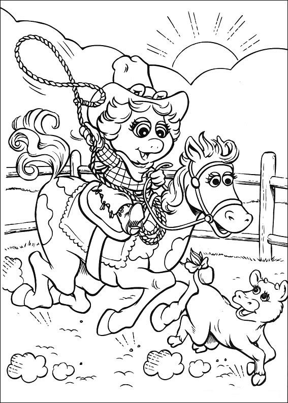 Muppets Coloring Pages 33 | coloring pages for all en 2018 ...