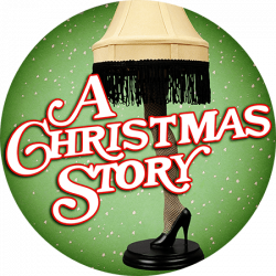 La Crosse Community Theatre A Christmas Story Logo Png Banner Black And White Library A Christmas Story Holiday Logo Grinch Stole Christmas