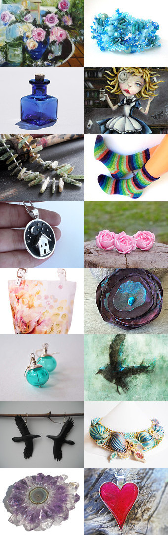 Wonderland by Evelina on Etsy--Pinned with TreasuryPin.com