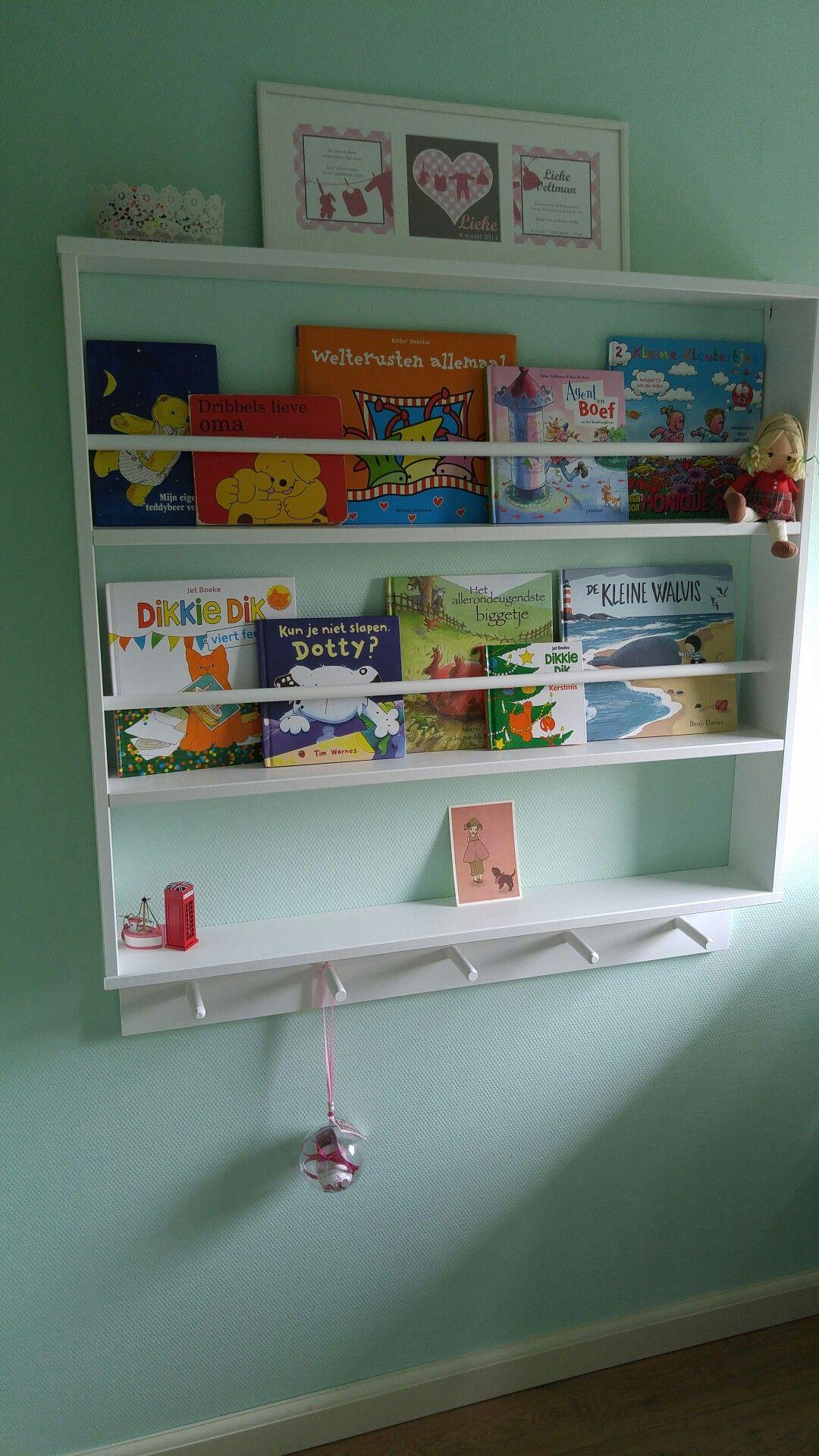 bookshelves kids room | boekenrek kinderkamer - huis | slaapkamer, Deco ideeën