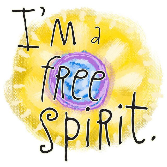 I'm a free spirit badge by Free Your Spirit, via Flickr