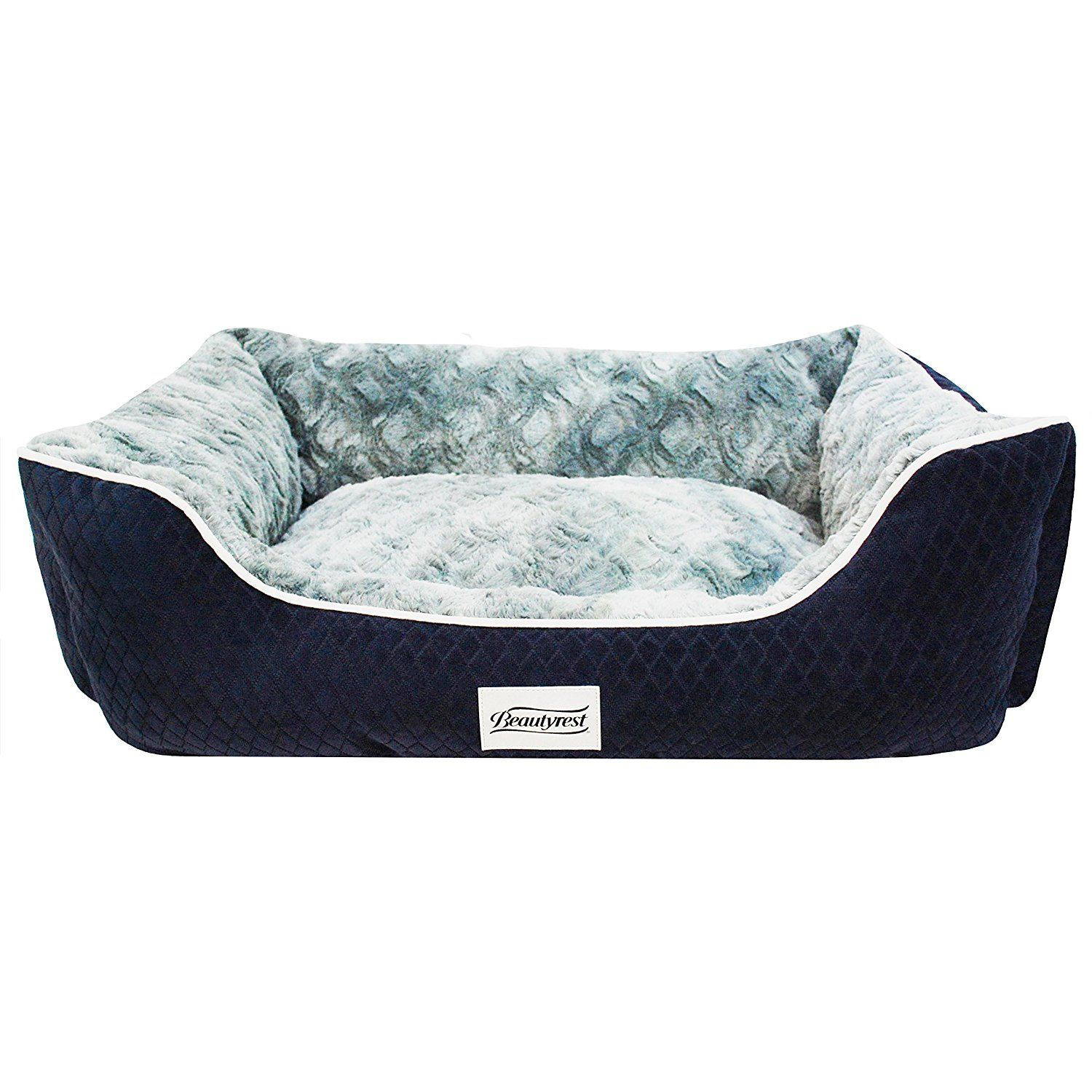 Simmons Beautyrest Cloud Couch Orthopedic Memory Foam Dog Bed