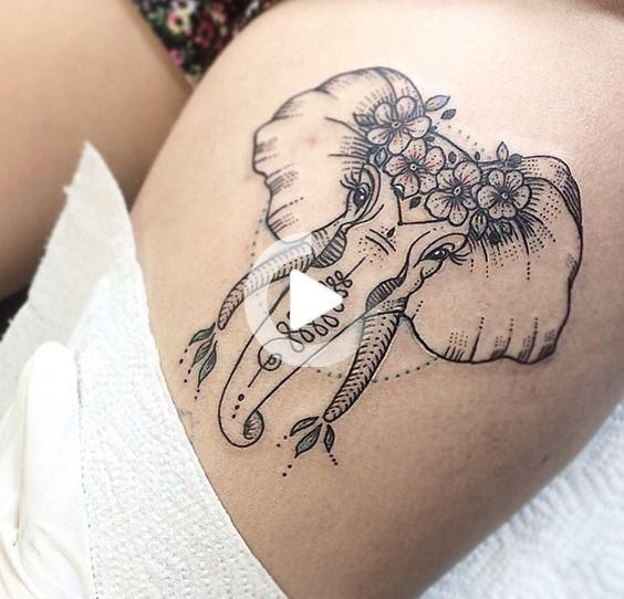 Photo of 18 Super Sexy Thigh Tattoos For Women