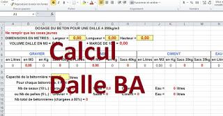 Calcul Dalle Beton Arme Excel Dalle Beton Calcul Beton Beton Arme